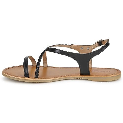 Les Tropéziennes par M Belarbi HANANO Noir - Livraison Gratuite avec Spartoo.com ! - Chaussures Sandale Femme 59,90 €