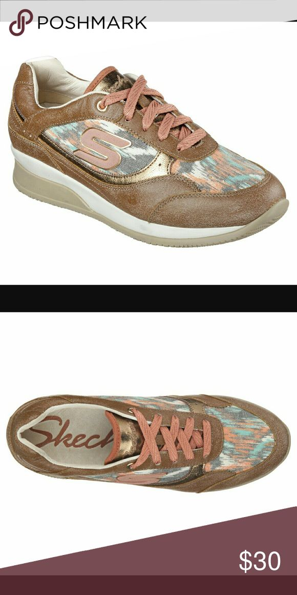NWT Skechers Wedge Fit . Size 8 New with tags. Skechers wedge fit sneakers. Size 8 Skechers Shoes
