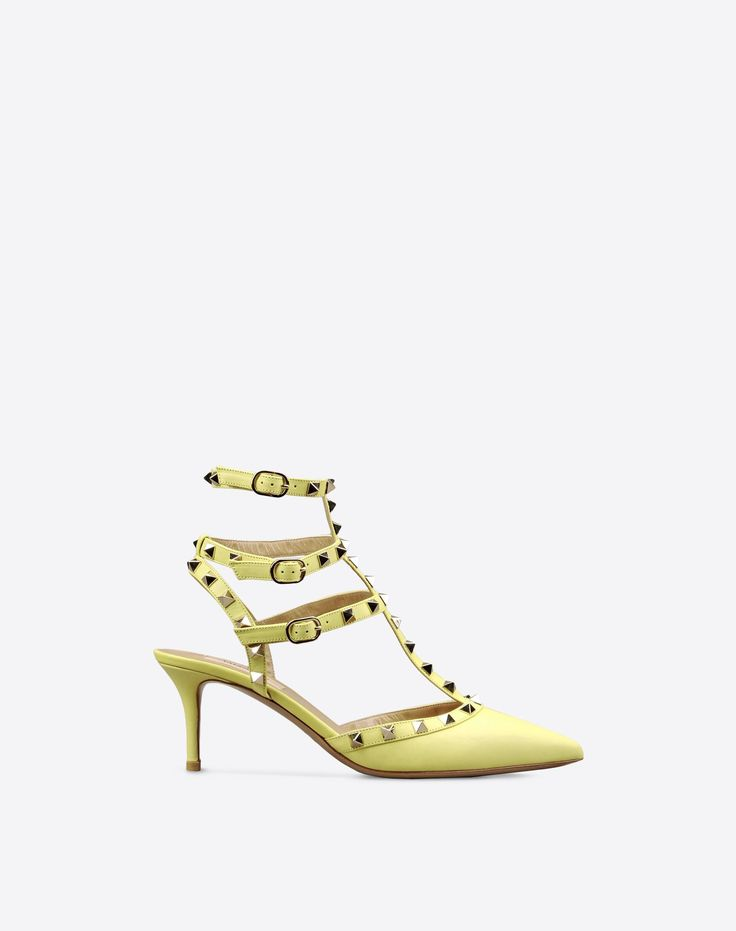 Valentino Online Boutique - Women Fall/Winter 2015 16, Valentino Rockstud Ankle Strap.
