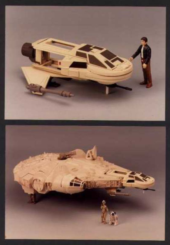 Back in the 70's Kenner had a prototype toy Millennium