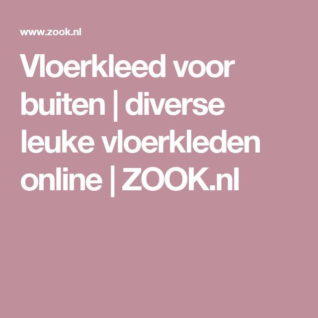 Vloerkleed voor buiten | diverse leuke vloerkleden online | ZOOK.nl