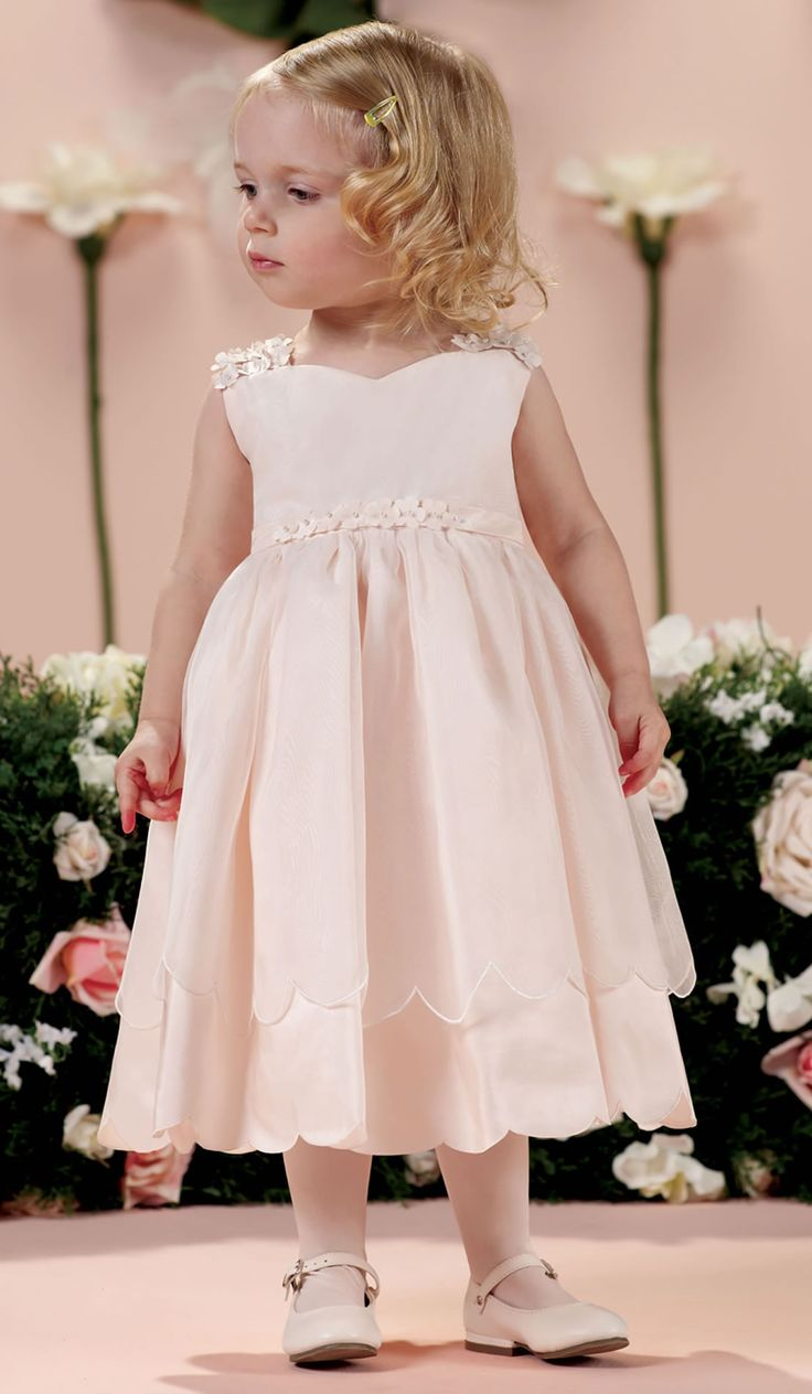 JOAN CALABRESE Flower Girl Dresses and Designer Special Occasion Dress for Girls available at TheRoseDress