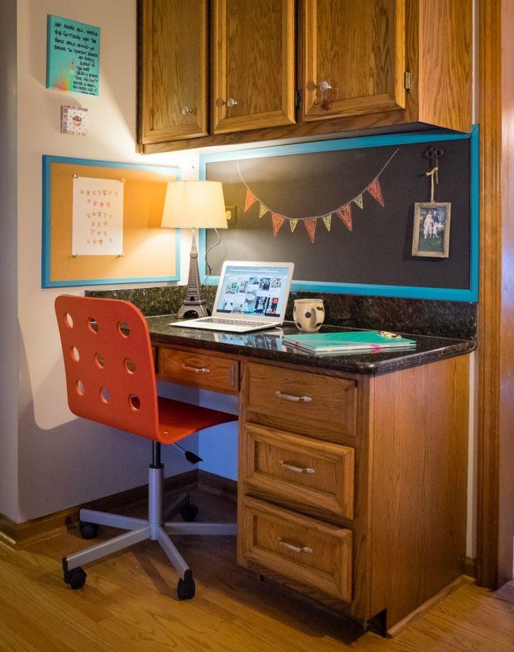 Kitchen Desk Update on Albion Gould