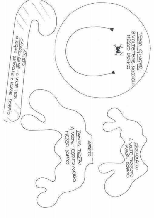 Bolso galletas de jengibre molde 2