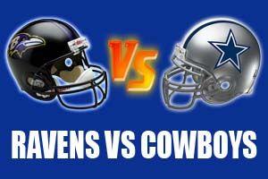 Watch Baltimore Ravens vs Dallas Cowboys Game Live Online Stream