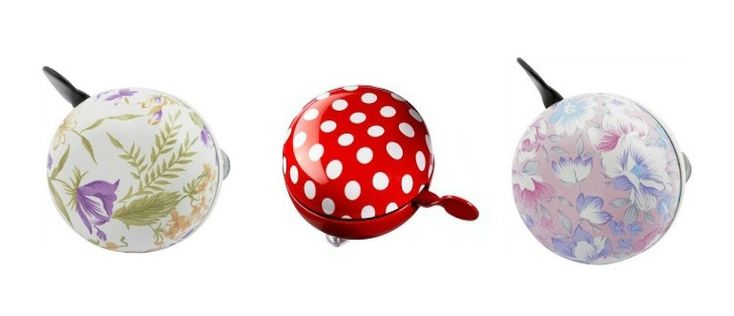 check the rest of the list.  floral bicycle bells in our top 10 bike accessories
