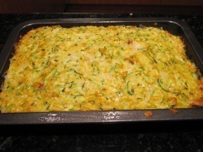 Vegetarian Zucchini Slice