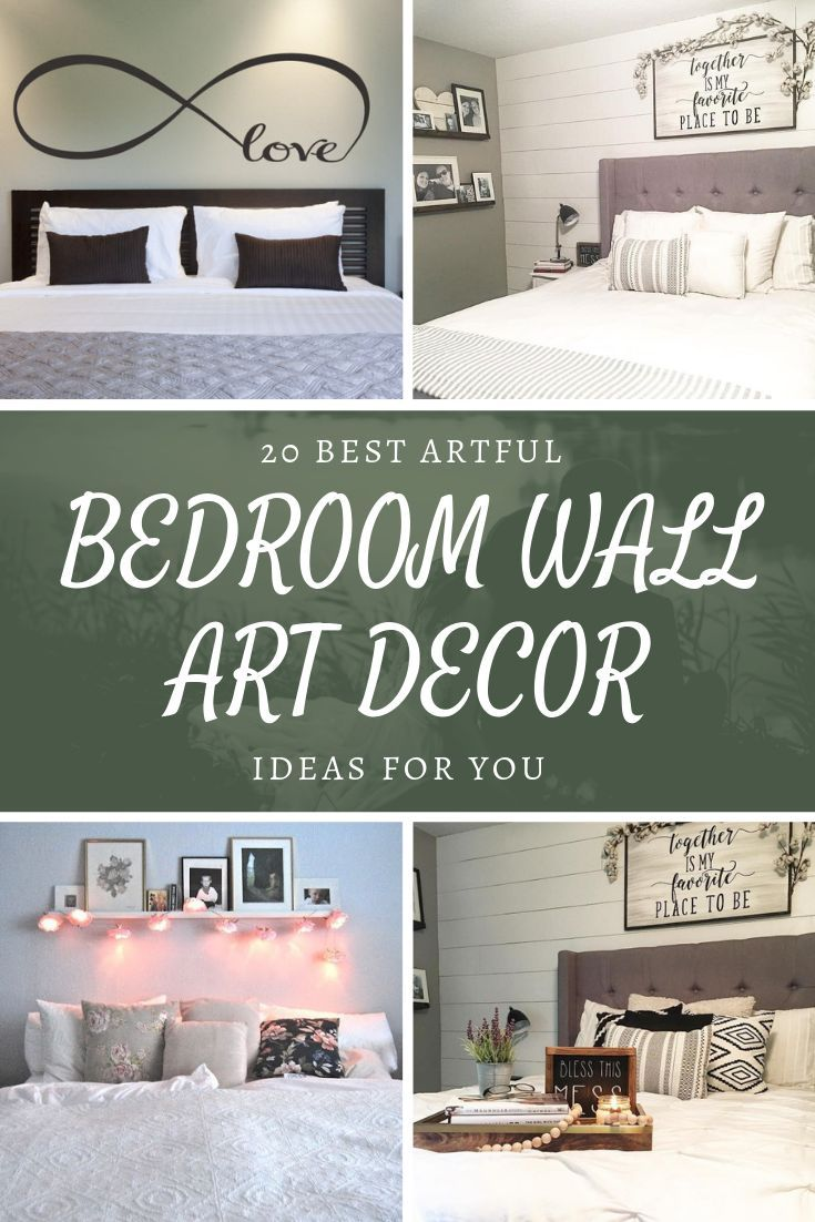 26 Best Artful Bedroom Wall Art Decor Ideas For Your Home  Wall