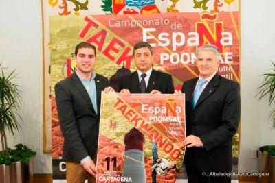Cartagena - España, ¡Campeonato de taekwondo poomsae y freestyle 11 de marzo de 2017!