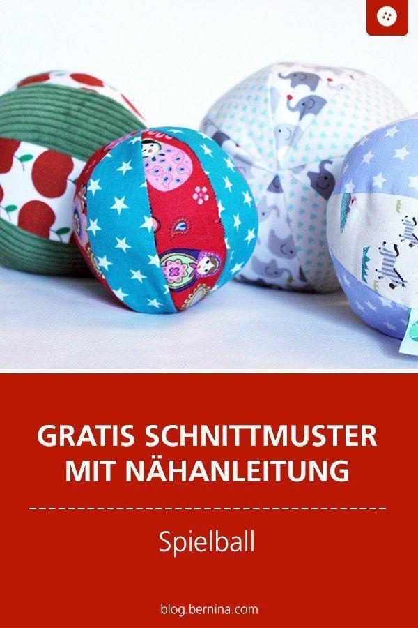 Anleitung und Schnittmuster: Baby Ball | Schnittmuster baby