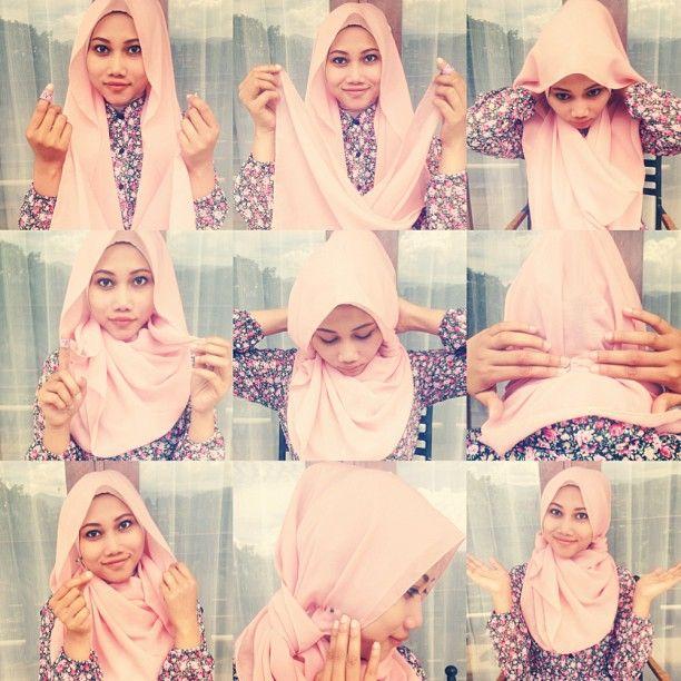 Cute Hijab Tutorial Idea