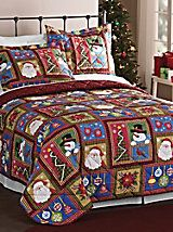 Holiday+Patchwork+Quilt+Set+|+Blair