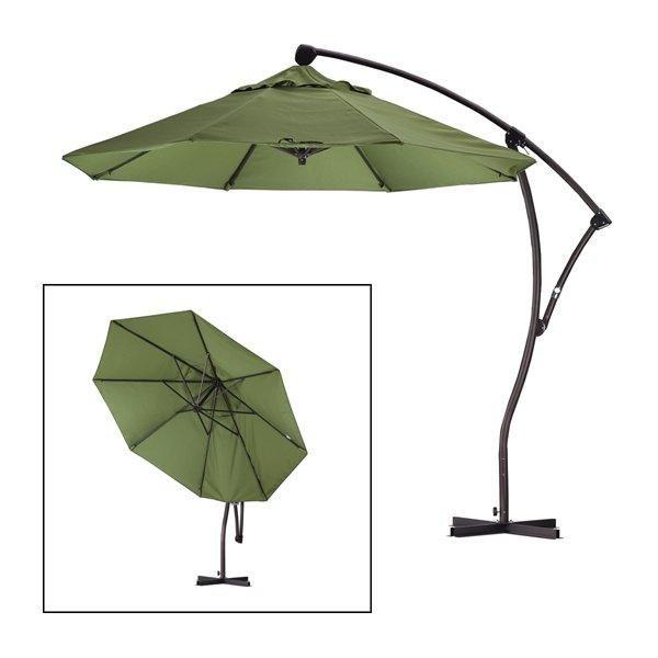 Patio Umbrella Alternative: California Umbrella BA908 9-ft Cantilever Umbrella With