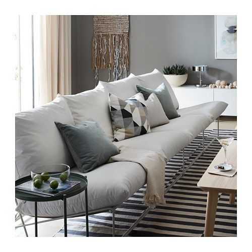 Havsten 4 Seat Sofa In Outdoor Without Armrests With Open End