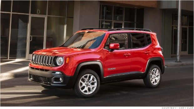 Jeep unveils new Renegade SUV