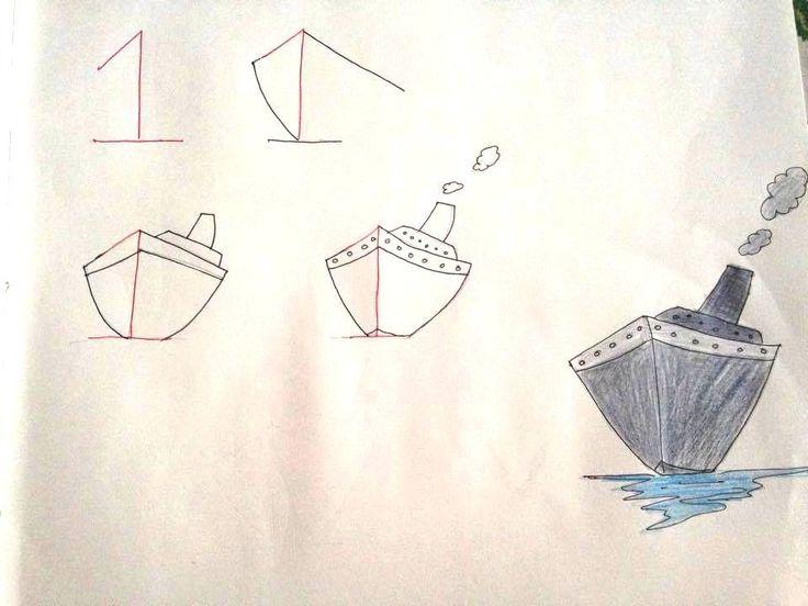 1 c'est le bateau