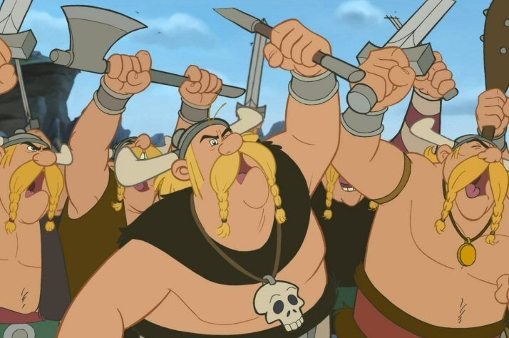 Vikings are known for their big and aggressive attitude. Their also known for being vulgar and not being well mannered.
