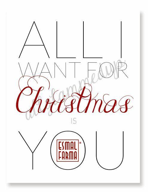 All I want for Christmas is...ESMALFARMA!!