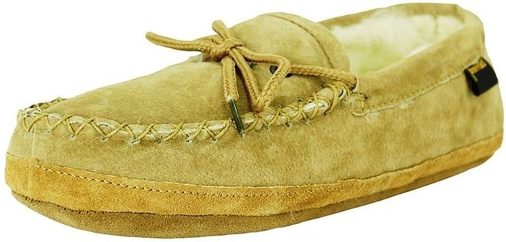 Old Friend Slippers Womens Size 11 Soft Sole Moccasin Chestnut 481193 #OldFriend #MoccasinSlippers