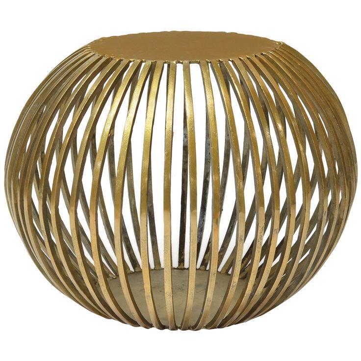 Palecek Stella Gold Side Table