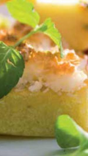 Kage med nektarin | Opskrift | ISABELLAS
