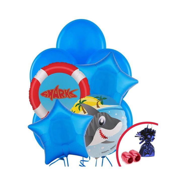Sharks Balloon Bouquet, Balloon Kit