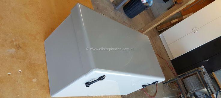 Custom made battery box.HDPE
