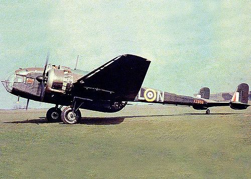 The rather odd looking Hampden medium bomber equipped six operational squadrons at the outbreak of hostilities in 1939.This example is seen ar Scampton in 1941.