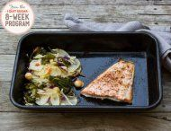 IQS 8-Week Program - One Pan Salmon 'n' Super Slaw- salmon is such a wonder-food; love, love, love it!