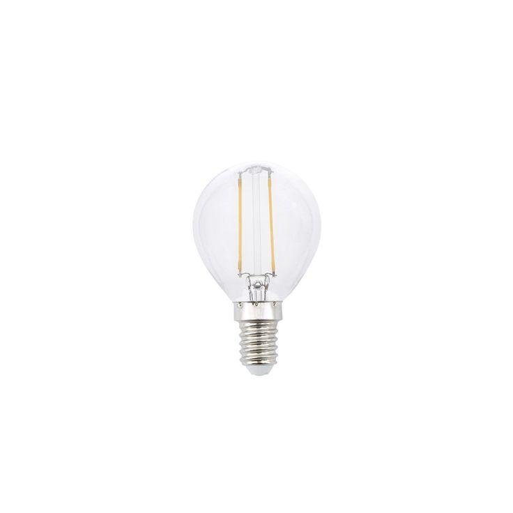 Bombilla LED rosca E14 2W clara