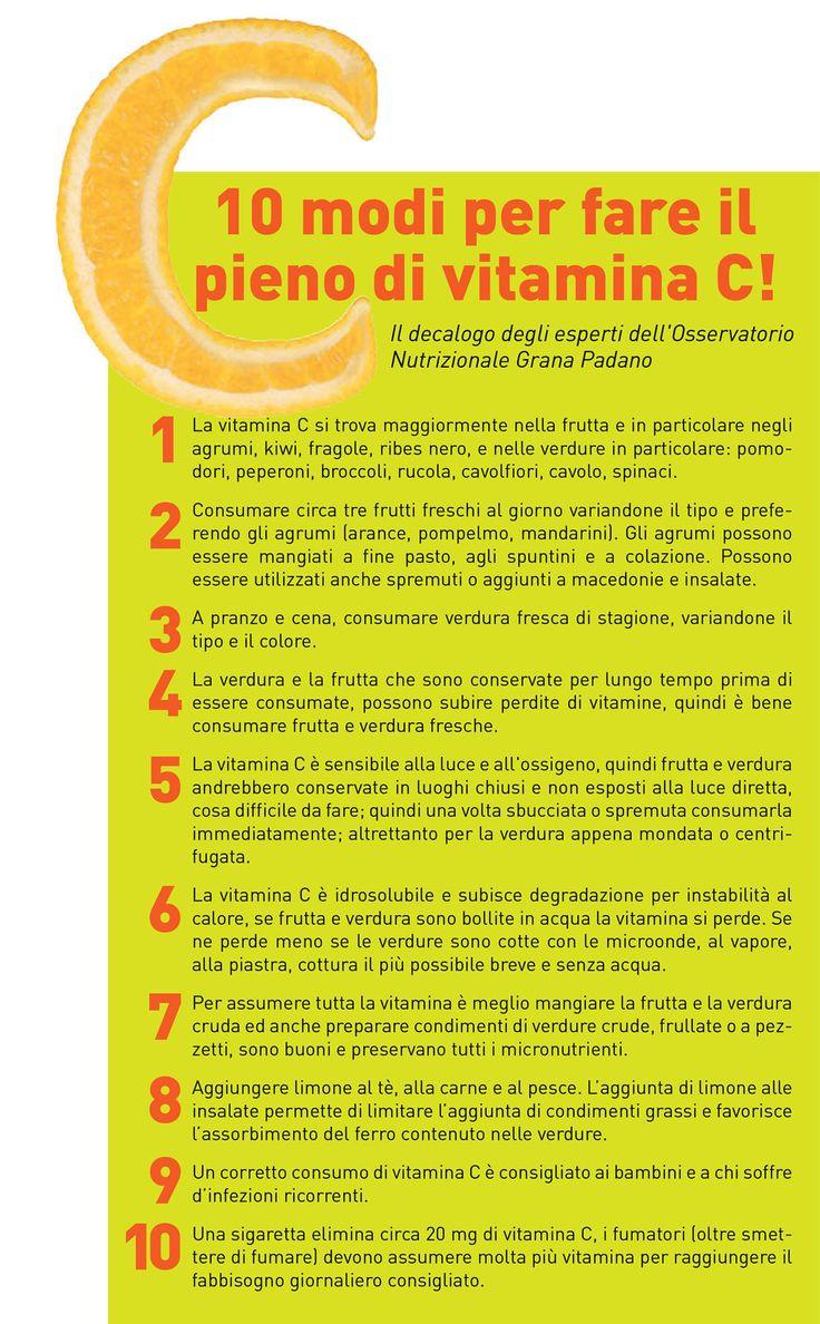 Vitamina C: Anti-age, disintossicante e protettiva contro i malanni stagionali, una miniera di salute! Tutti i consigli per assumerne la giusta quantità e la gallery con i cibi che ne sono più ricchi