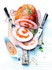 Gevulde Kalkoenrollade. Zeg je kerst, dan zeg je kalkoenrollade. Bereid de kalkoenrollade extra gezond in de combi-stoomoven van Miele.