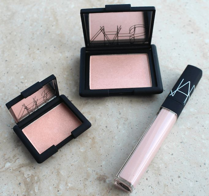 NARS Spring 2015...Valhalla eyeshadow, Reckless Blush and Guyane Lip Gloss. Beautiful!