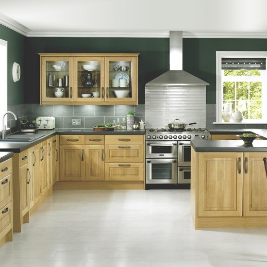 Solid Oak Classic Kitchen From B