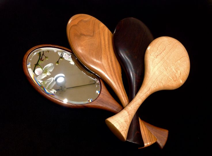 So many choices! Any one of these hand mirrors would make a great gift. They are made exclusively by the artisans at Davin and Kesler.