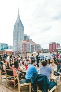 Nashville -- ACME Feed & Seed patio (From Laura- day or night (night maybe))