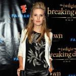 "Maggie Grace in Dries Van Noten, Elizabeth and James & Theory | ""The Twilight Saga: Breaking Dawn ..."