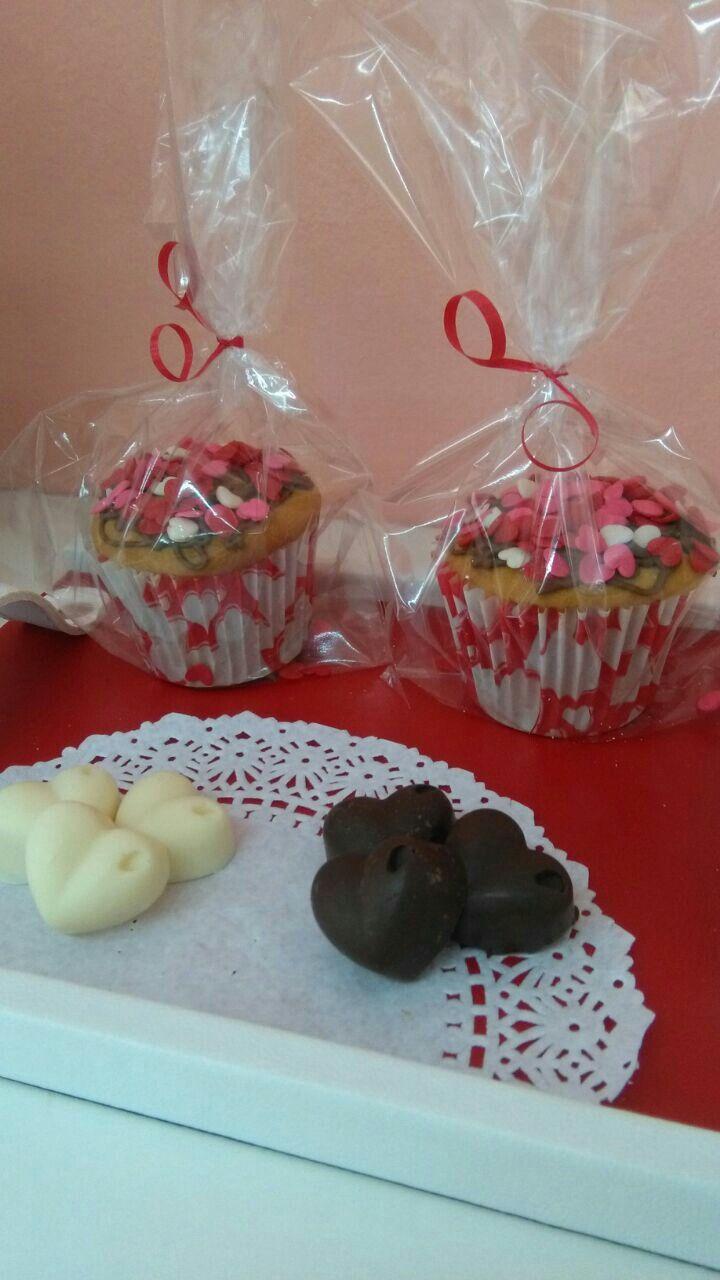 Día de los Enamorados - Muffins y Bombones