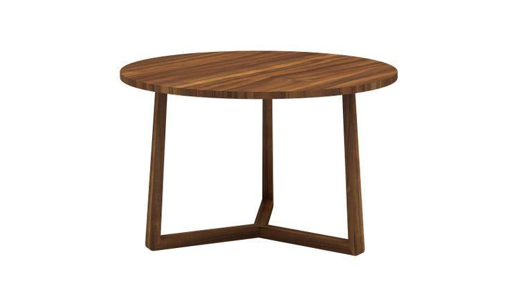 Ricardo (2) by Iroko home . Modèle disponible en bois (chêne, noyer et wengé) et en bois laqué (basic ou tendance) Dimension : (H 730| L 1250 | P 1250) - (H 730| L 1500 | P 1500) - (H 730| L 1700 | P 1700)