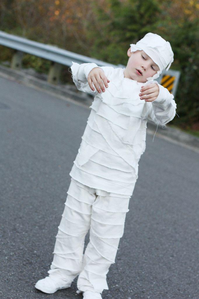 DIY Mummy Costume For Kids - Sew Much Ado