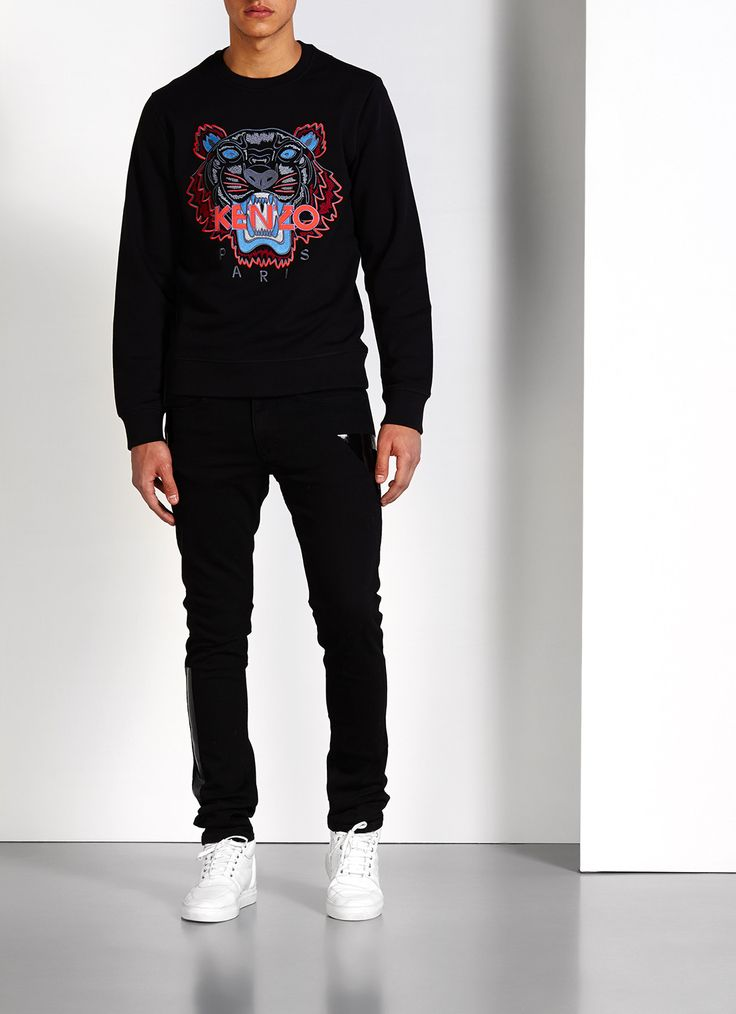 Limited Kenzo sweater with iconic tiger application • Bijenkorf