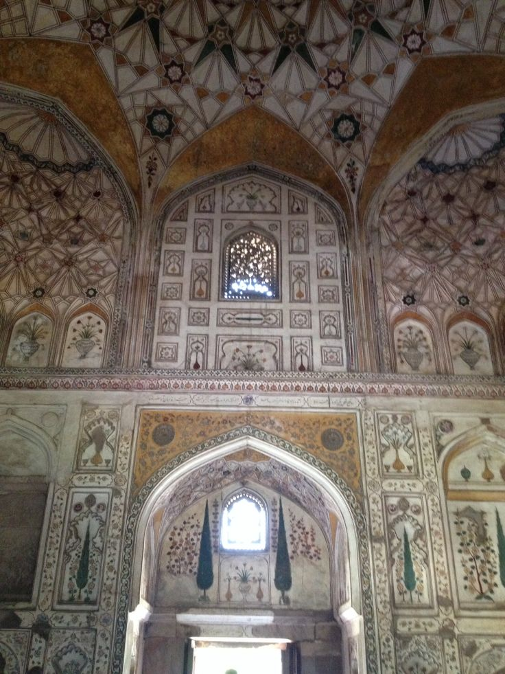 Tomb of Jahangirs daughter, Nisar Begum in Khusrau Bagh, Allahabad