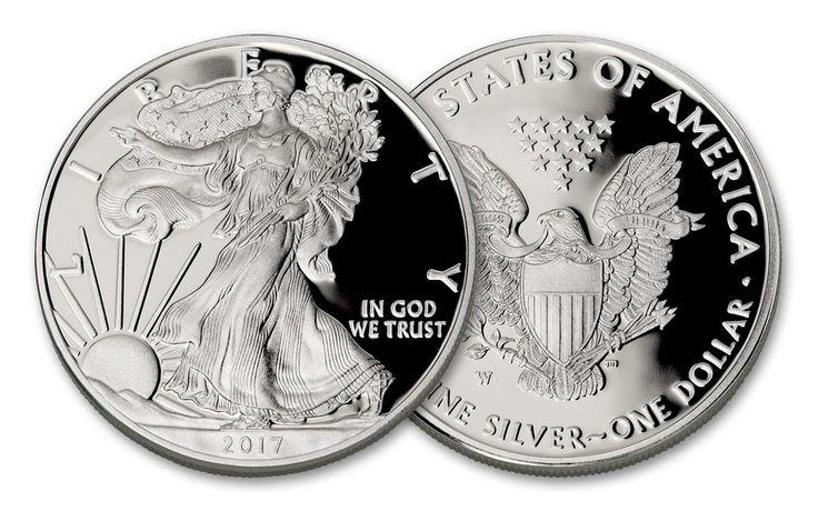2017-W 1 Dollar 1-oz Silver Eagle Proof