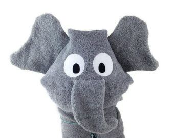 Personalized Baby Gifts Hooded Towels Elephant Baby Gift Hooded Bath Towel Baby Hooded Towel Kids Beach Towel Hooded Baby Towel