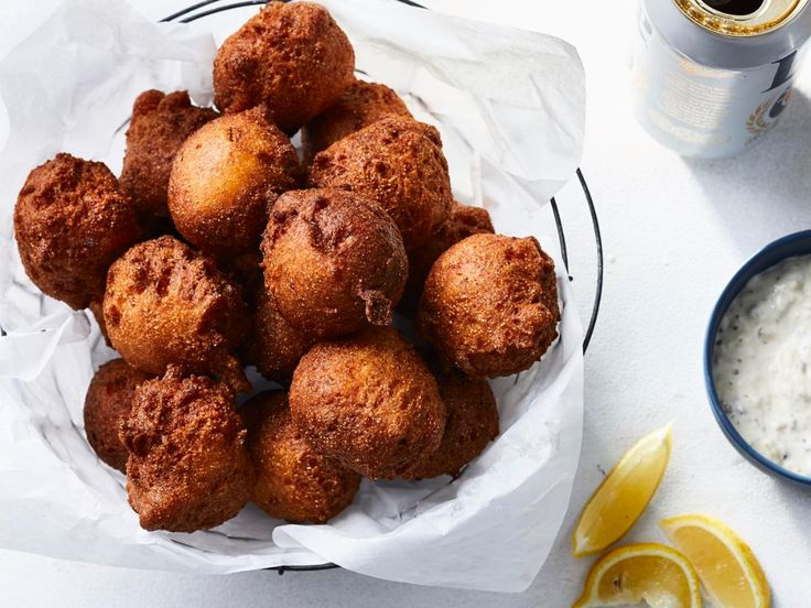 Hush Puppies Recipe in 2020 Recipes, Cooking seafood, Food