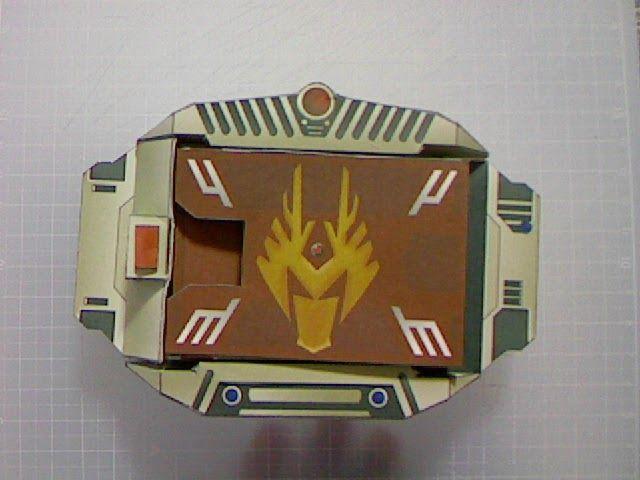 [kamen rider universe] V-buckle ryuki form