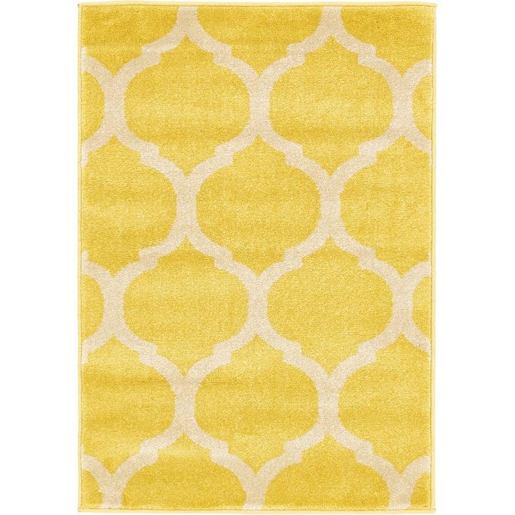 geometric trellis light terracotta 13 ft x 18 ft rug yellow rugyellow area