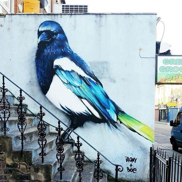followthecolours instagrafite 05 Instagrafite   Maior galeria de arte de rua colaborativa do mundo