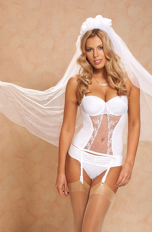 Bridal Lingerie This wedding season, feel like a sex goddess in our extensive collection of bridal lingerie. With the most inexpensive prices on the web and styles for every romantic and passionate moment, Spicy Lingerie is your one stop shop for your complete bridal lingerie wardrobe.