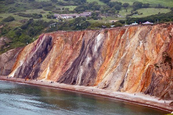 Alum Bay Coloured Sands, IoW